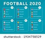 european football euro 2020... | Shutterstock .eps vector #1934758529