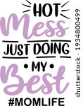 mother's day lettering.... | Shutterstock .eps vector #1934800499