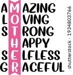 mother's day lettering.... | Shutterstock .eps vector #1934803766