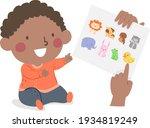 illustration of a kid boy...   Shutterstock .eps vector #1934819249