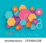vector flat graphic design... | Shutterstock .eps vector #193484108