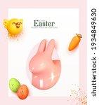 happy easter. modern creative... | Shutterstock .eps vector #1934849630