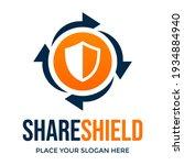 share shield or recovery... | Shutterstock .eps vector #1934884940