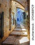 A Street In Jewish Quarter ...