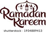 ramadan kareem greeting... | Shutterstock .eps vector #1934889413