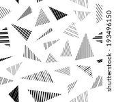 Abstract Geometric Striped...