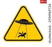 ufo abducts human from earth....   Shutterstock .eps vector #1934969726