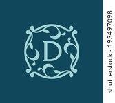 sign the letter d branding... | Shutterstock .eps vector #193497098