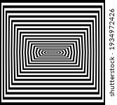 optical art illusion of striped ...   Shutterstock .eps vector #1934972426