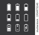 set of battery charge level...