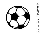 soccer ball  simple style  icon.... | Shutterstock .eps vector #1934977796