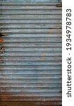 Old Rusty Metal Door Gate Of A...