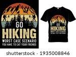 go hiking worst case scenario... | Shutterstock .eps vector #1935008846