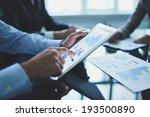 image of businessperson... | Shutterstock . vector #193500890