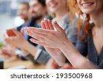 photo of business people hands... | Shutterstock . vector #193500968