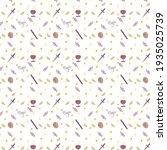 tarot pattern swords coins... | Shutterstock . vector #1935025739
