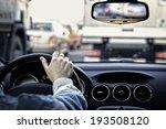traffic jam | Shutterstock . vector #193508120