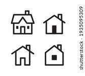 set of house vector icons....   Shutterstock .eps vector #1935095309