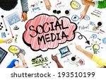 group of business people with... | Shutterstock . vector #193510199
