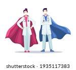 super doctor concept... | Shutterstock .eps vector #1935117383