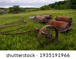 Old Rusty Agricultural...