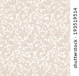 floral pattern. wallpaper... | Shutterstock .eps vector #193519514