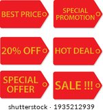 promotional badges  special... | Shutterstock .eps vector #1935212939
