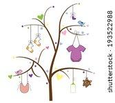 baby tree | Shutterstock .eps vector #193522988