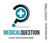 medical question vector logo... | Shutterstock .eps vector #1935277886