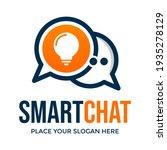 smart chat vector logo template.... | Shutterstock .eps vector #1935278129