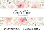 beautiful floral background...   Shutterstock .eps vector #1935315859