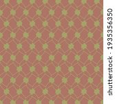 geometric pattern made in red... | Shutterstock .eps vector #1935356350