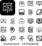 network collection vector icons ...