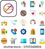 app collection vector icons set....