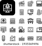 keyboard collection vector...