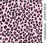 Abstract Modern Leopard...