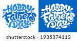 happy father's day calligraphy... | Shutterstock .eps vector #1935374113