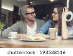 young couple spending time... | Shutterstock . vector #193538516
