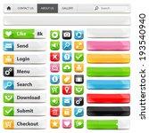 web design elements set....