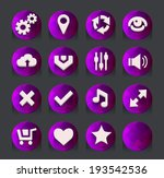 pink web icons collection....