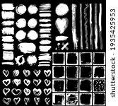 collection white heart cross... | Shutterstock .eps vector #1935425953
