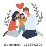 family life and protection ...   Shutterstock .eps vector #1935442903