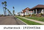 Houses On Suburban Street In...