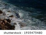 Ocean Wave Background Breaking...