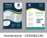 business flyer layout template... | Shutterstock .eps vector #1935482140