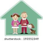 a vector illustration of a boy... | Shutterstock .eps vector #193552349
