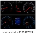 two different types of car... | Shutterstock . vector #1935527629