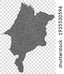 blank map sao paulo of brazil....