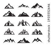set of mountain travel emblems. ... | Shutterstock .eps vector #1935552646