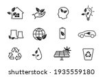 eco and environment line icon... | Shutterstock .eps vector #1935559180